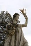 Standbeeld in Boboli-Tuinen - Florence, Toscanië, Italië royalty-vrije stock fotografie