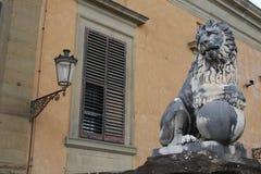 Standbeeld in Boboli-Tuinen - Florence, Toscanië, Italië stock foto