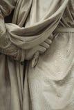 Standbeeld buiten Uffizi, Florence, Italië stock foto