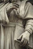 Standbeeld buiten Uffizi. Florence, Italië Stock Foto
