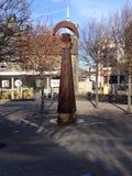 Standbeeld in Cardiff royalty-vrije stock fotografie