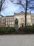 Standbeeld in Den Haag Stock Afbeelding
