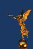 Standbeeld in Dresden Stock Foto's