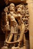 Standbeeld in een tempel Jain Stock Fotografie