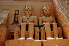 Standbeeld Egypte Royalty-vrije Stock Foto's