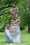 Standbeeld Heilige Elisabeth van Hongarije. Stock Foto