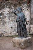 Standbeeld in het Roman theater van Merida Stock Afbeelding