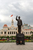 Standbeeld in Ho Chi Minh City Royalty-vrije Stock Afbeeldingen