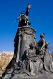 Standbeeld in Lille Royalty-vrije Stock Fotografie
