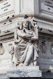 Standbeeld Lissabon Stock Afbeeldingen