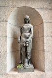 Standbeeld in Marmeren Paleis stock fotografie