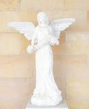 Standbeeld met vleugels Royalty-vrije Stock Fotografie