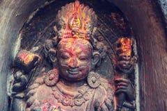 Standbeeld in Nepal Royalty-vrije Stock Afbeeldingen