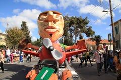 Standbeeld op Carnaval-Optocht. Stock Afbeeldingen