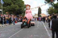 Standbeeld op Carnaval-Optocht. Royalty-vrije Stock Afbeeldingen