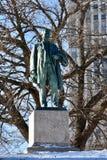 Standbeeld op de Heuvel stock foto