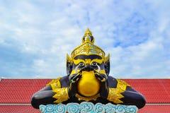 Standbeeld Rahu Stock Afbeeldingen