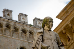 Standbeeld, Siena, Italië Stock Foto's