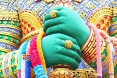 Standbeeld, Thailand. Stock Afbeeldingen