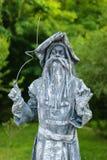 Standbeeld tijdens het Internationale Festival van het Leven Standbeelden Stock Fotografie