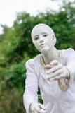 Standbeeld tijdens het Internationale Festival van het Leven Standbeelden Stock Afbeelding