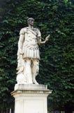 Standbeeld in Tuileries-tuin, Parijs, Frankrijk Stock Afbeeldingen