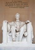 Standbeeld van Abraham Lincoln Royalty-vrije Stock Foto