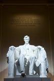 Standbeeld van Abraham Lincoln Stock Foto
