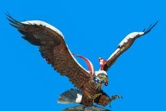 Standbeeld van adelaar Royalty-vrije Stock Fotografie