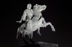 Standbeeld van Alexander Groot stock foto