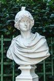 Standbeeld van Alexander Groot in de Zomertuin, heilige-Petersburg Stock Foto