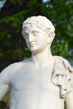 Standbeeld van Antinous Stock Afbeeldingen