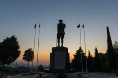 Standbeeld van Ataturk stock foto's