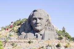 Standbeeld van Ataturk Royalty-vrije Stock Afbeeldingen