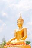 Standbeeld van Boedha Royalty-vrije Stock Afbeeldingen
