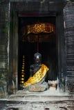 Standbeeld van Boedha in Angkor Wat Stock Afbeelding