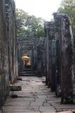 Standbeeld van Boedha in Bayon, Angkor, Kambodja Royalty-vrije Stock Fotografie