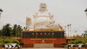 Standbeeld van Boedha Tempel van Boedha vietnam Royalty-vrije Stock Afbeeldingen