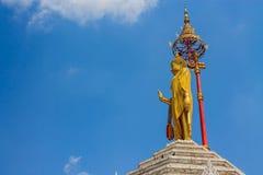 Standbeeld van Boedha in Thailand Royalty-vrije Stock Afbeelding