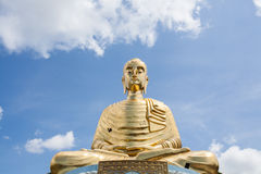 Standbeeld van Boedha in Thailand stock foto