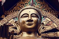 Standbeeld van Boedha in Thailand, eiland Koh Samui Royalty-vrije Stock Afbeelding