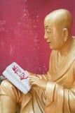 Standbeeld van Buddah Royalty-vrije Stock Afbeeldingen