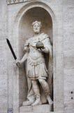 Standbeeld van Charlemagne royalty-vrije stock afbeelding