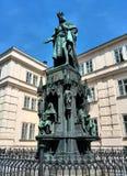 Standbeeld van Charles IV Royalty-vrije Stock Foto's