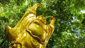 Standbeeld van Chinese Boeddhistische monniken Stock Fotografie