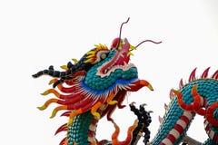 Standbeeld van Chinese draak Royalty-vrije Stock Foto