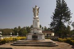 Standbeeld van Christus de Koning Stock Fotografie