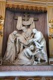 Standbeeld van Christus, Rome, Italië Stock Afbeelding