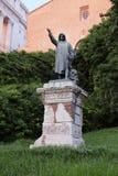 Standbeeld van Cola Di Rienzo door Girolamo Masini in Rome, Italië Stock Foto's