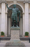 Standbeeld van Constantine in Milaan Stock Afbeeldingen
